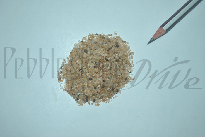 1mm to 3mm natural sand
