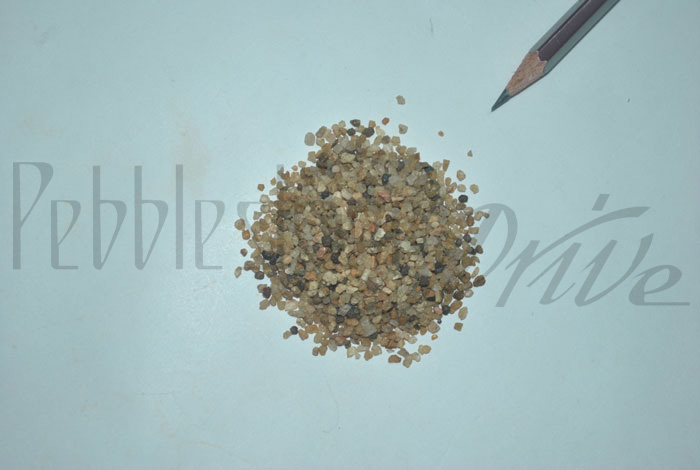 2 to 5 mm coarse sand