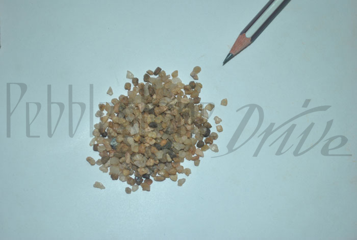 3 to 6 mm natural sand